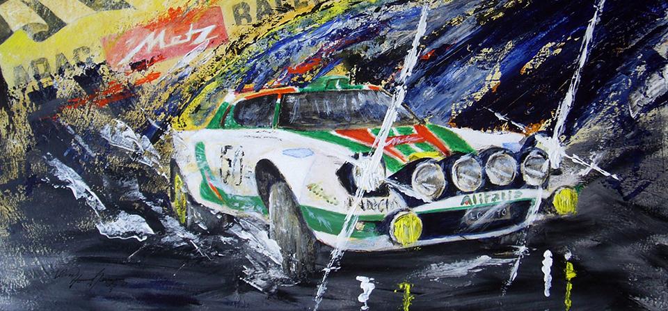 Stratos Metz-Rallye Automaler Klaus D. Homrighausen